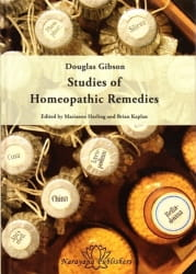 Studies of Homoeopathic Remedies - Douglas M Gibson