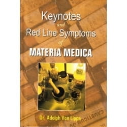 Keynotes and Red Line Symptoms of Materia Medica - Adolph Von Lippe